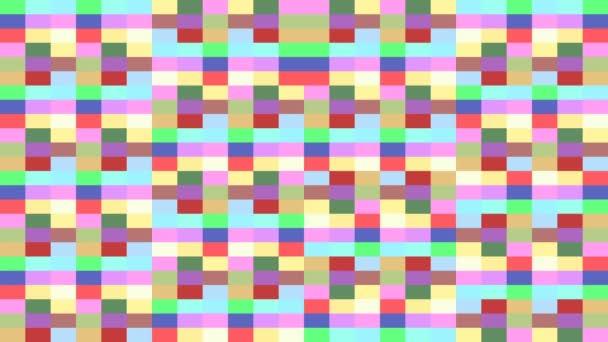 Krásné barevné obdélníky měnící barvy pozadí