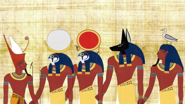 Faraon, konzultace s egyptských bohů