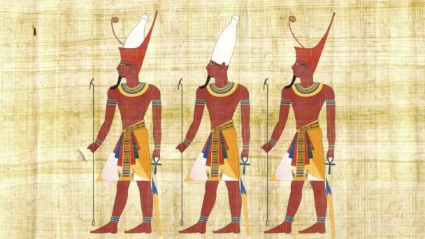 Dolní Egypt horního Egypta a všech faraonů Egypta
