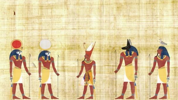Faraon Ra Geb Chonsu a Anubis