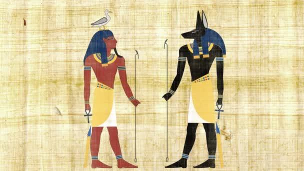 Anubis egyptských bohů a Geb