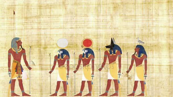 Faraon, konzultace s egyptskými bohy