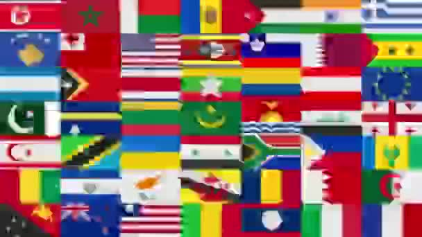 All World Flags Background