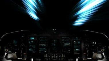 Nave espacial futurista interior vista de sci fi v deo for Puerta nave espacial