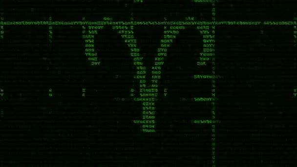 Tierkreis Zeichen Hintergrund in einem Matrix-Stil
