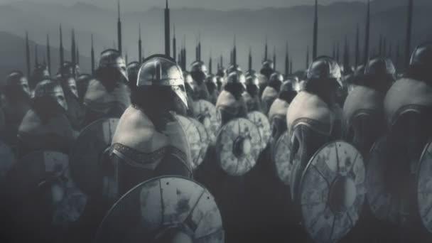 Velká armáda Vikingských válečníků do války