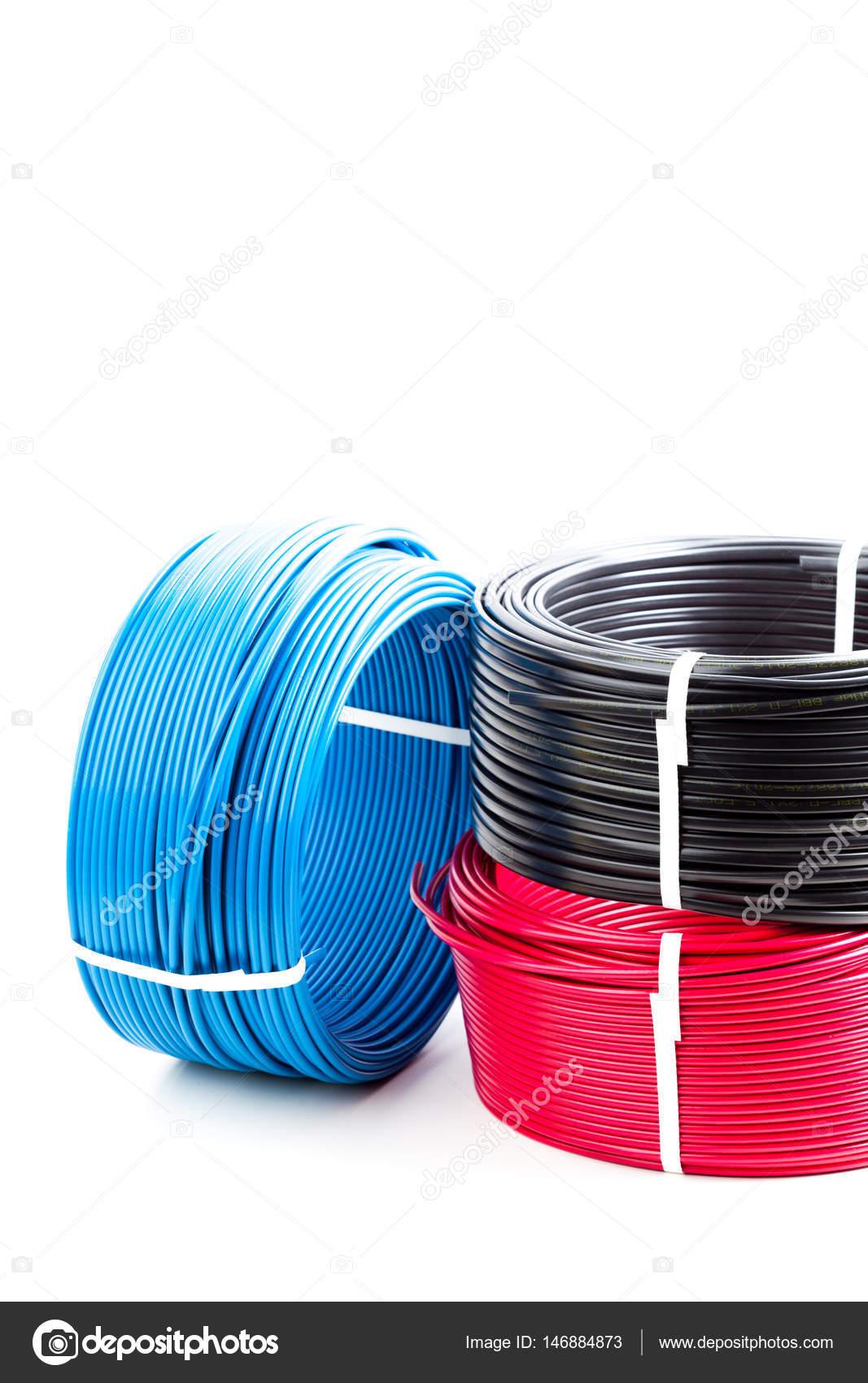 Farbige Elektrokabel farbige kabel stockfoto fotofabrika 146884873