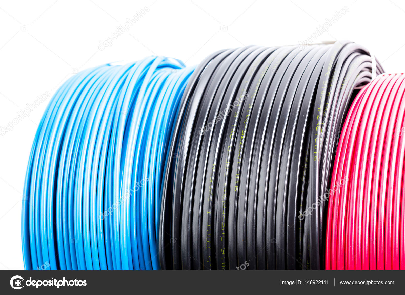 Farbige Elektrokabel farbige kabel stockfoto fotofabrika 146922111