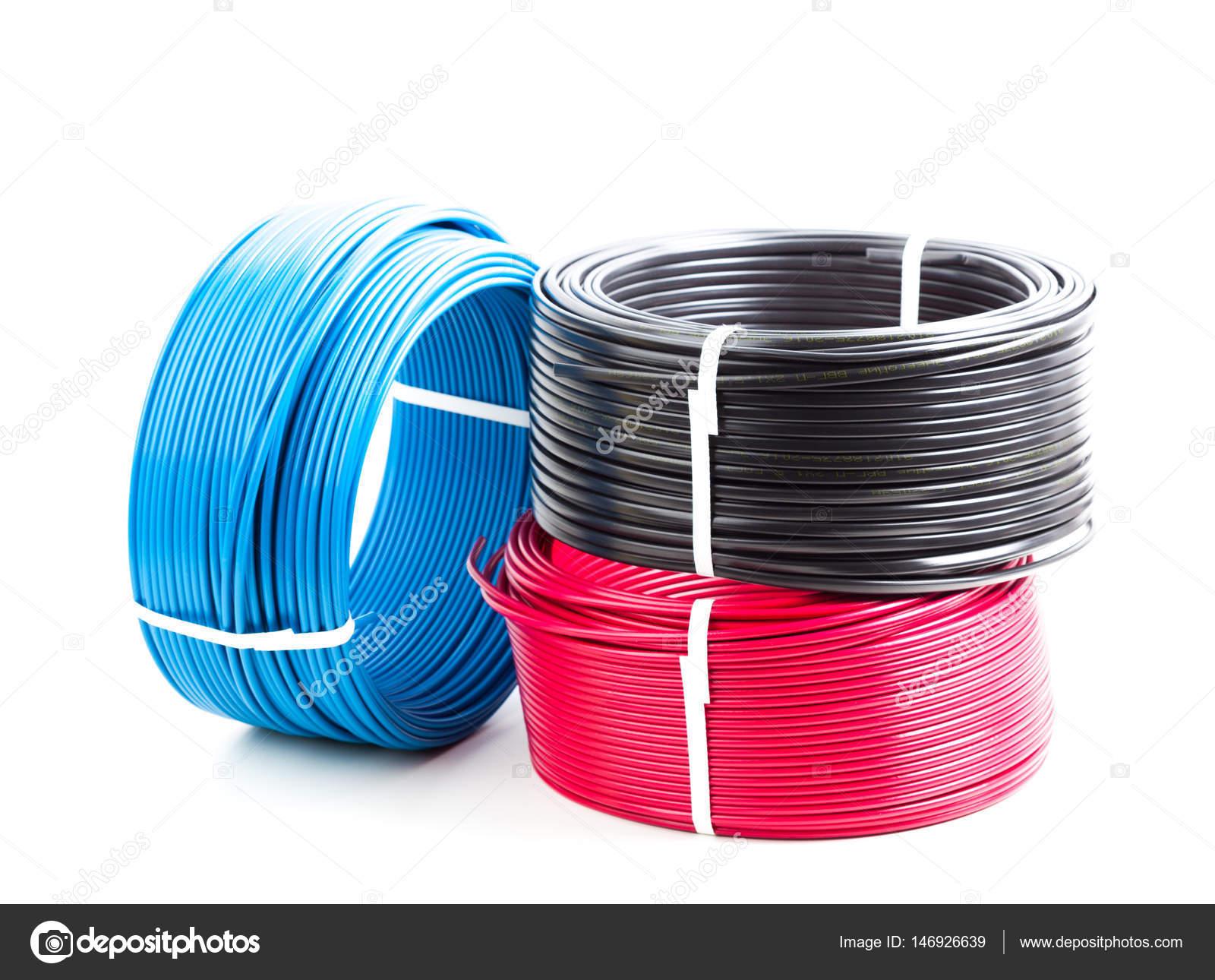 Farbige Elektrokabel farbige kabel stockfoto fotofabrika 146926639