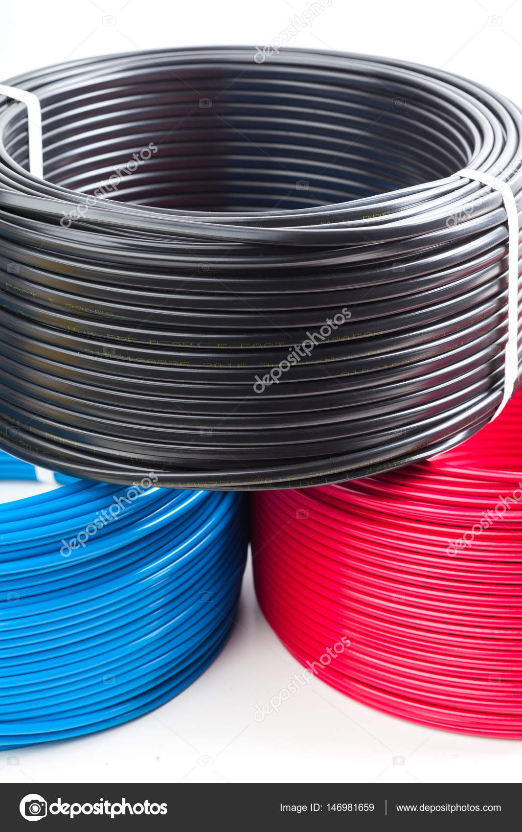 colored electric cables — Stock Photo © Fotofabrika #146981659