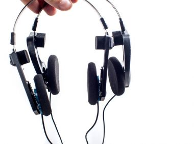 Modern Headphones with wires