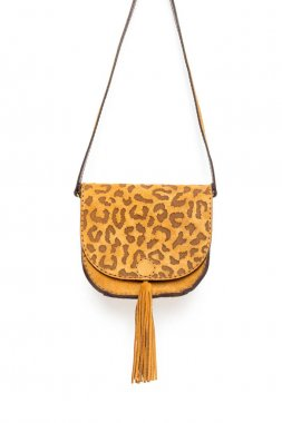 Leather female handbag