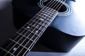 detail der klassische gitarre