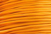 Elektrický kabel closeup s mnoha dráty