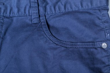 Detail of blue jeans background