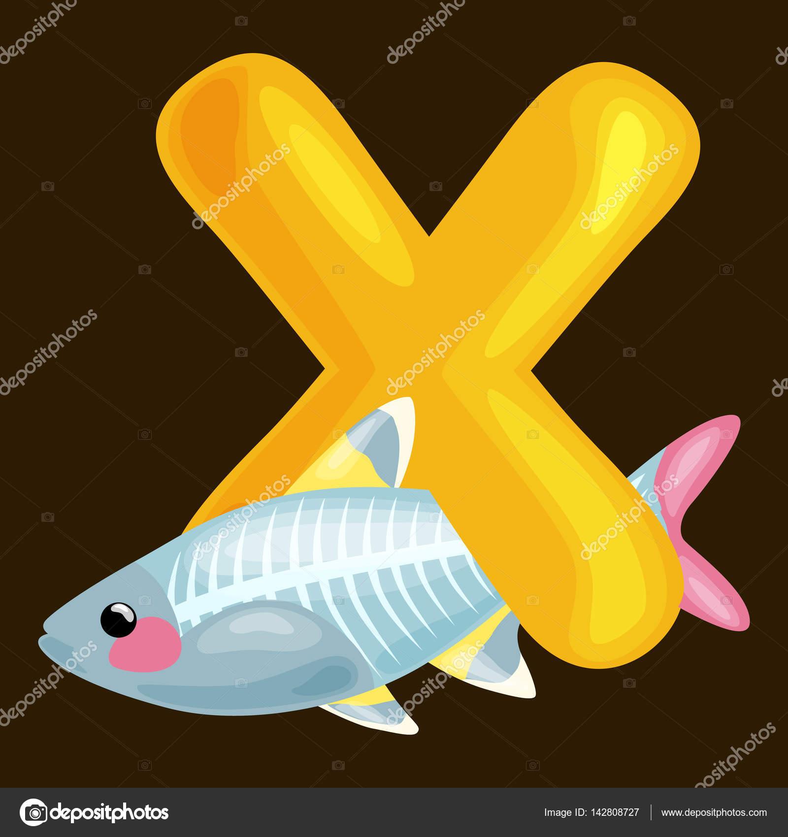 Animales Con La Letra X Para Colorear Letra X Con Animal