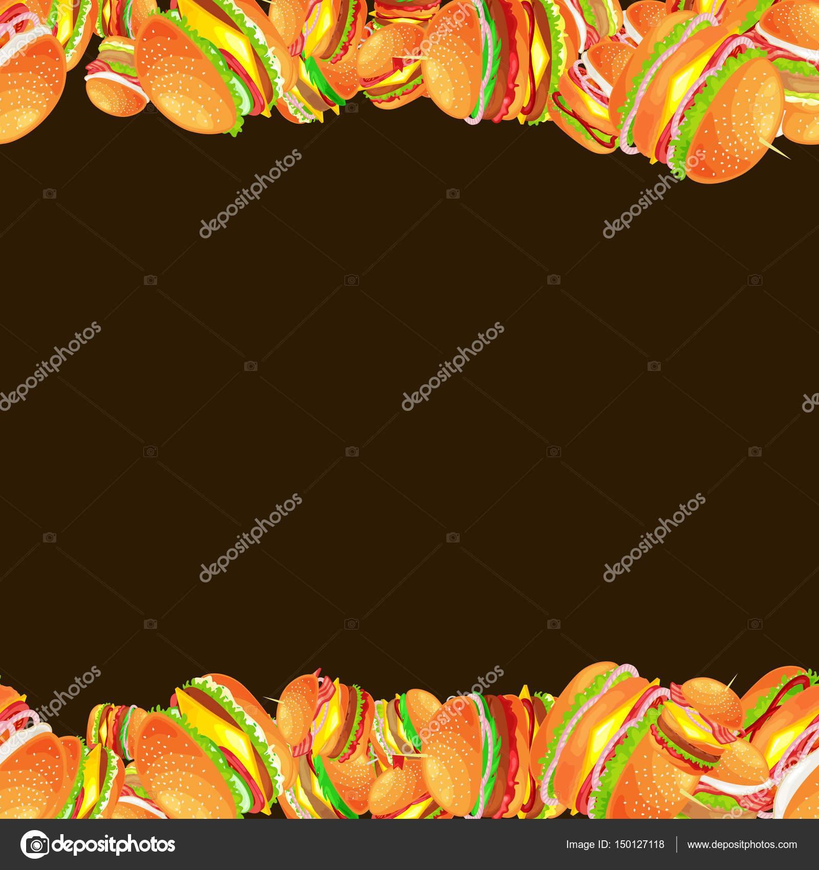 Marco de carne sabrosa hamburguesa a la plancha y verduras aliñada ...