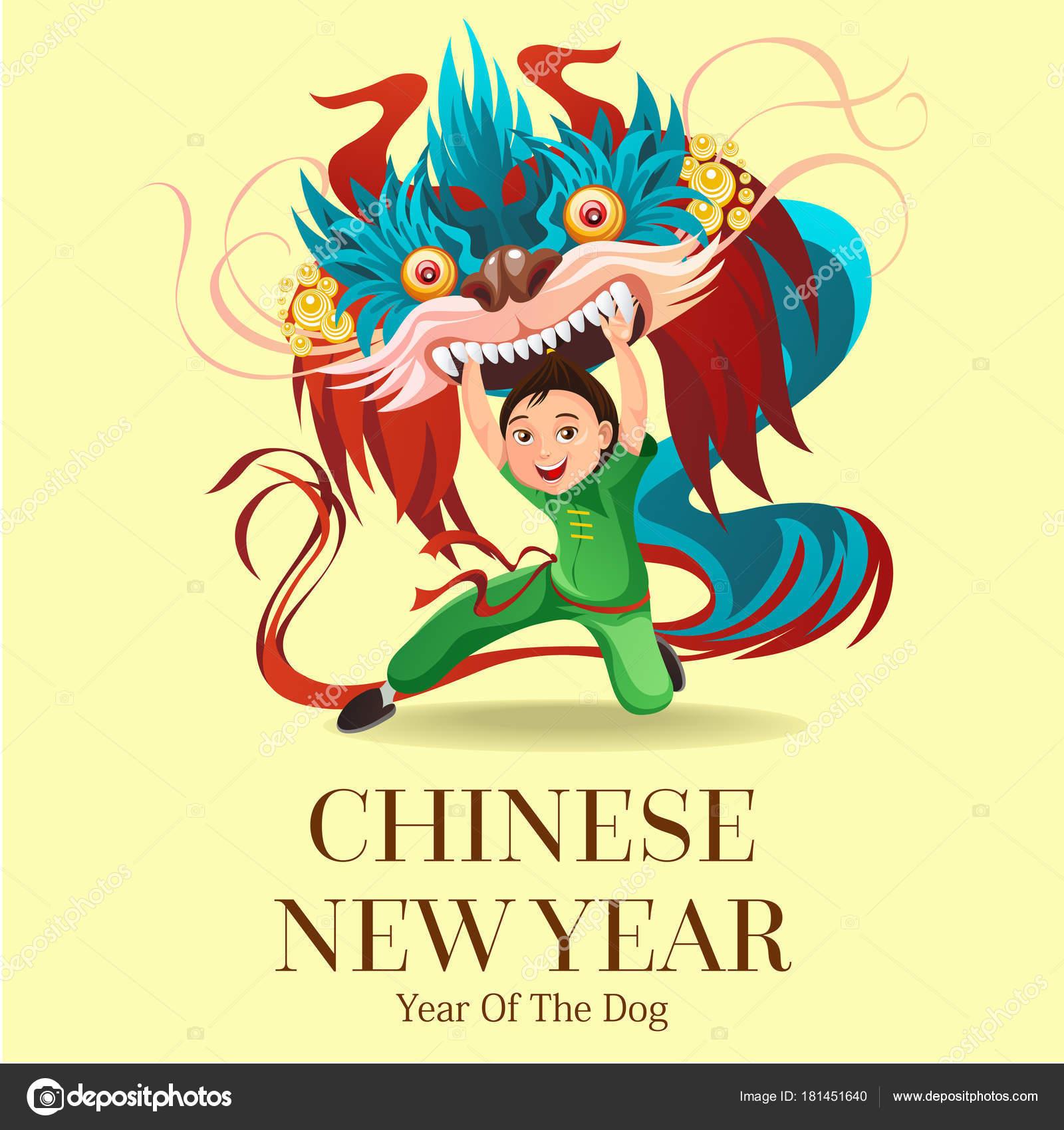 Chinês Lunar Ano Novo Leão Dança Luta Isolada Fundo