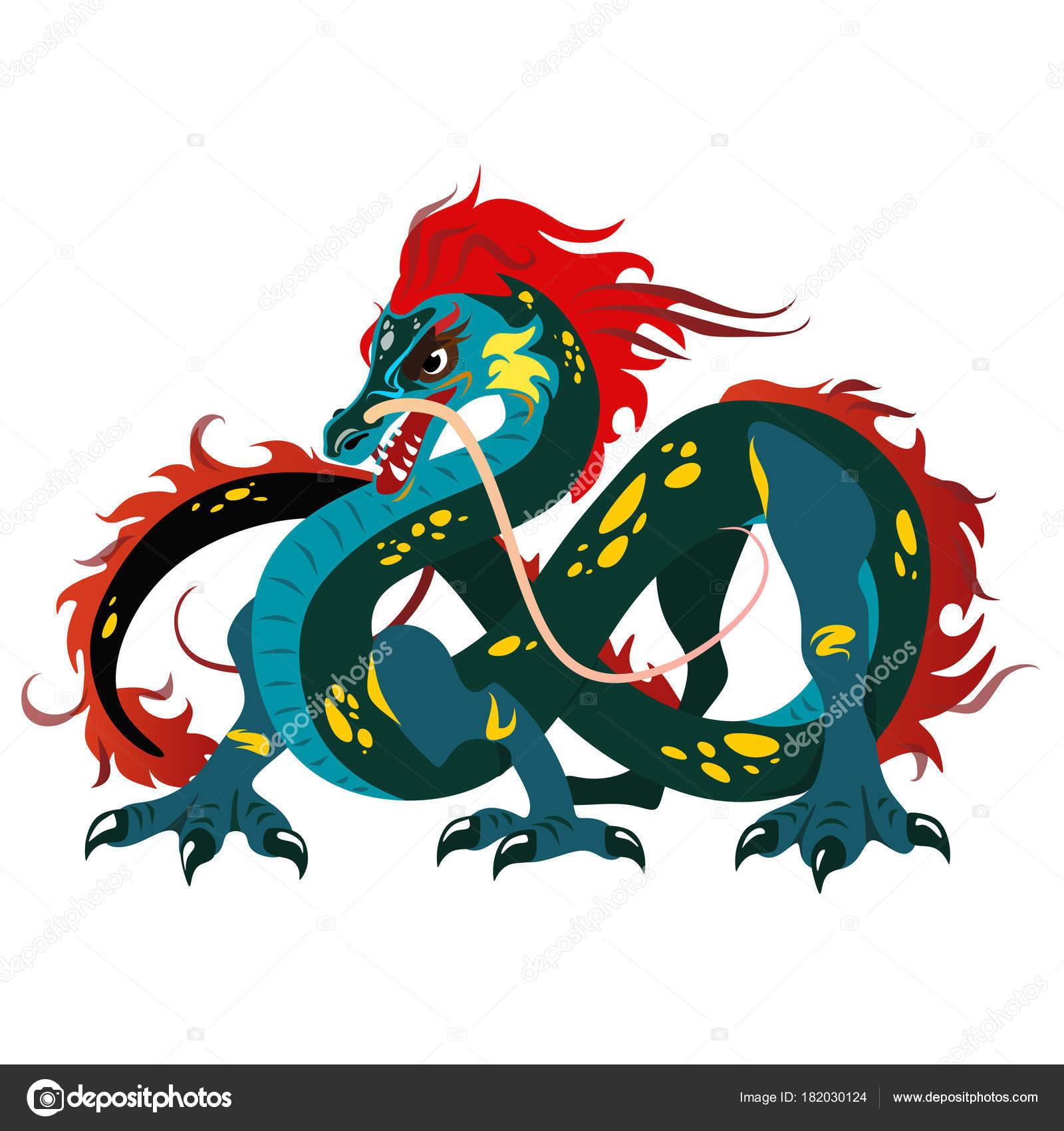 Dibujos Dragones Chinos Para Tatuajes Dragón Chino Tradicional