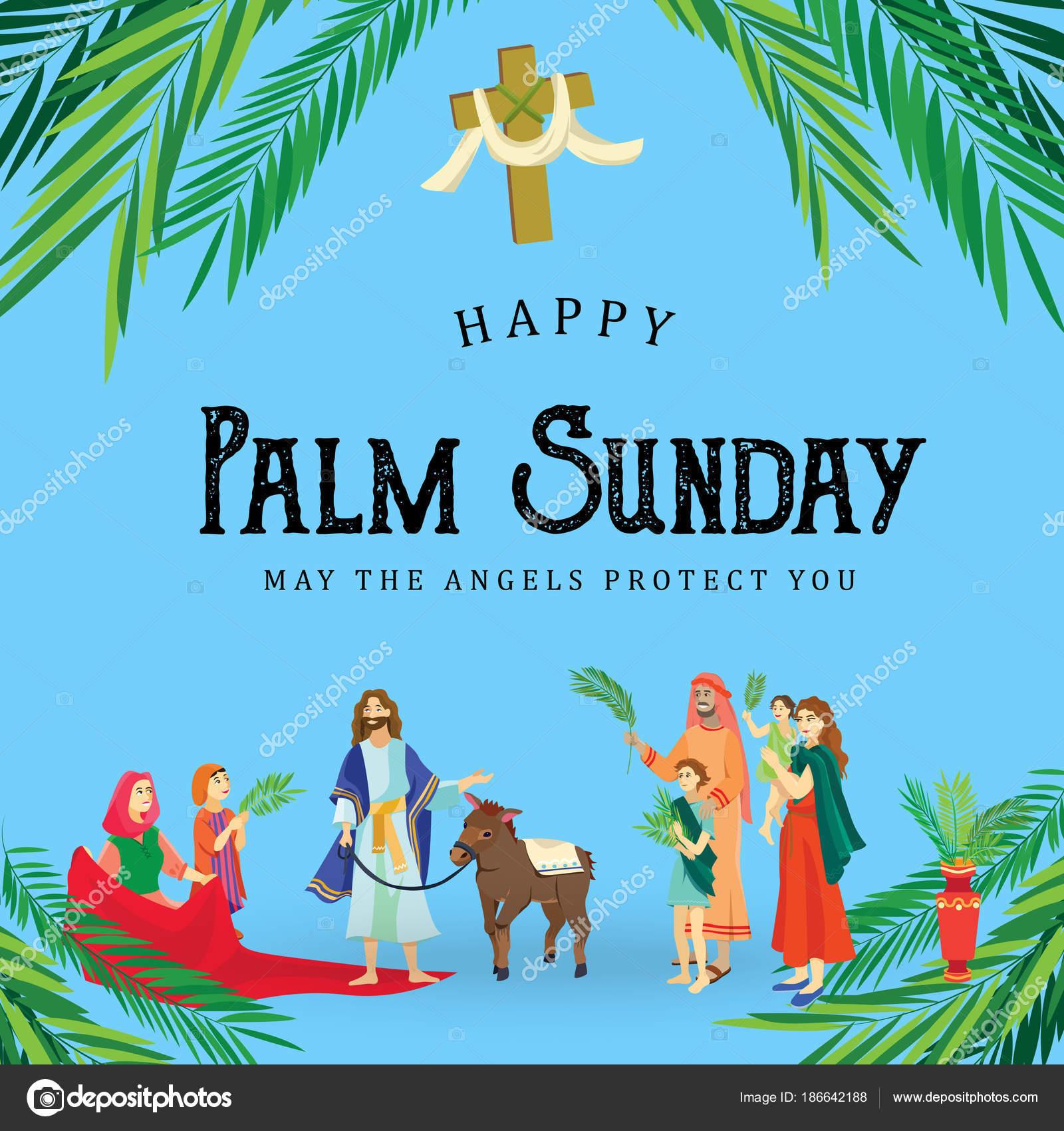 Palma de vacaciones religión el domingo antes de Pascua, celebración ...