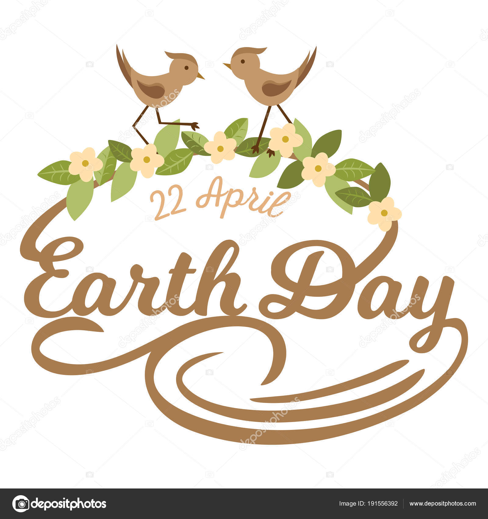 April 22 world earth day logotypes set for greeting cards or banner april 22 world earth day logotypes set for greeting cards or banner with text and fonts lettering in retro hipster style vector illustration m4hsunfo