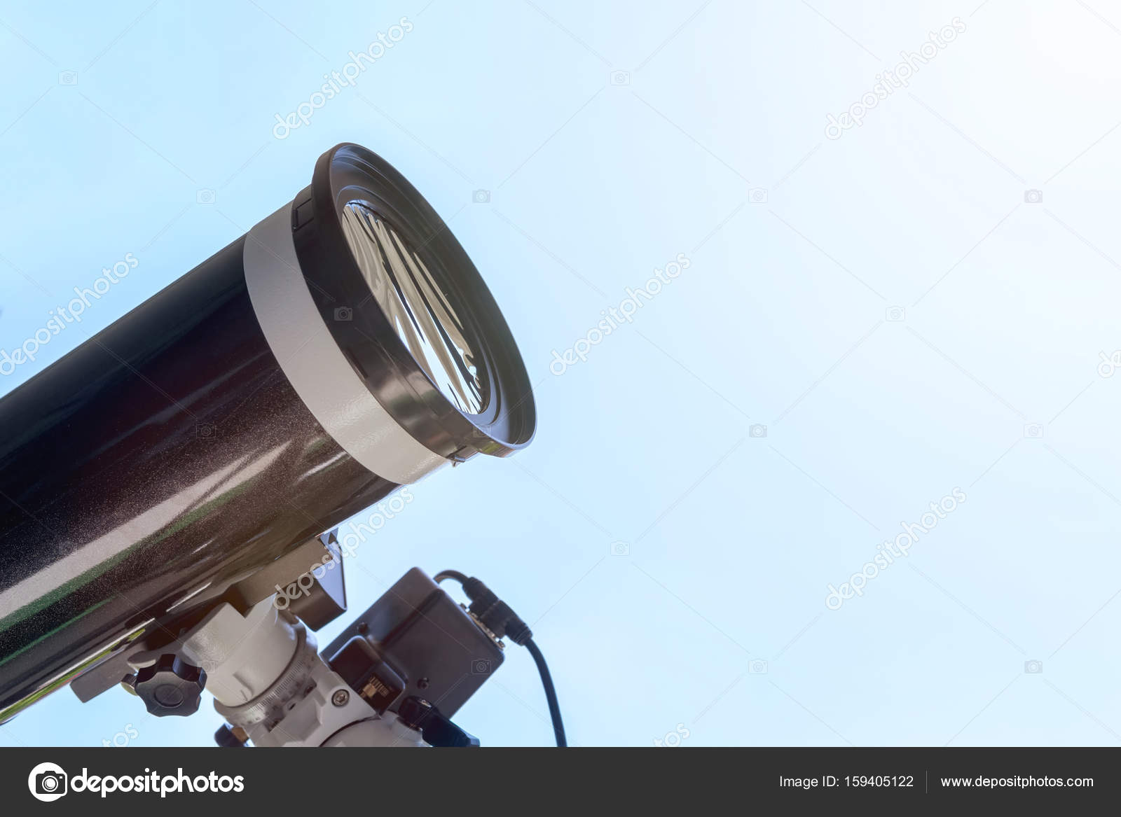 Sonnenfinsternis mit teleskop beobachten fernrohr mit solar fil