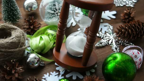 Vánoce a nový rok pozadí s dárky.