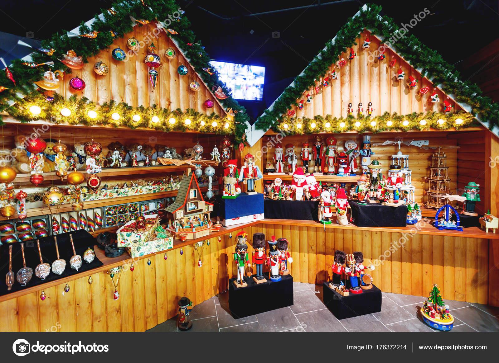 Finland Christmas Decorations.Rovaniemi Finland July 20 2017 Souvenir Shop In Santa
