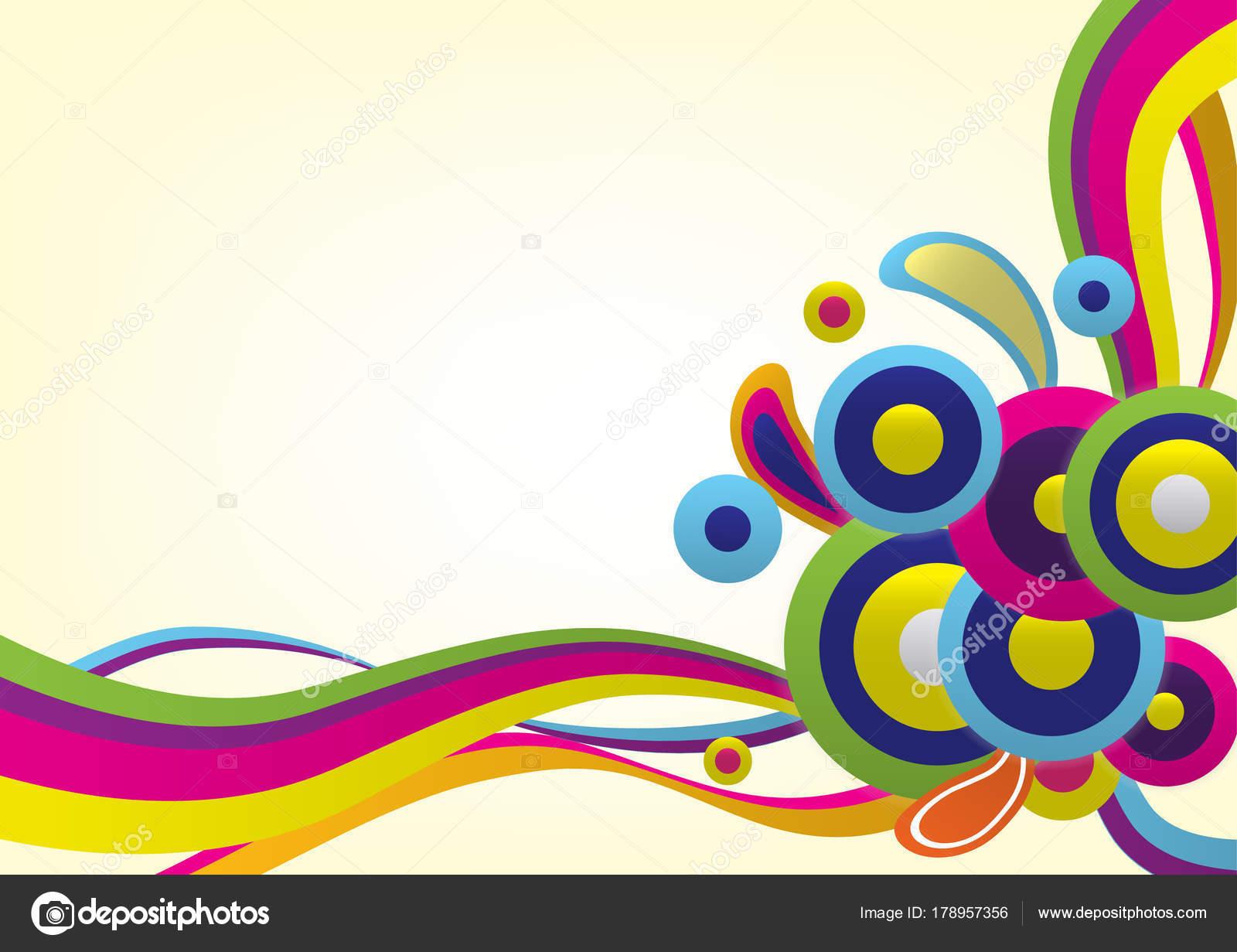 Bunte Vektor Abstrakten Hintergrund Verwendung Für Wallpaper ...