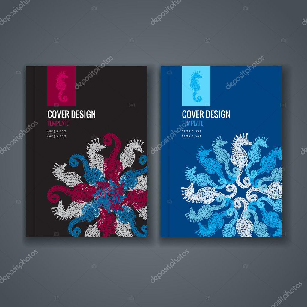 Broschüre Vorlage Layout, Cover-Design von Jahresbericht, Buch ...