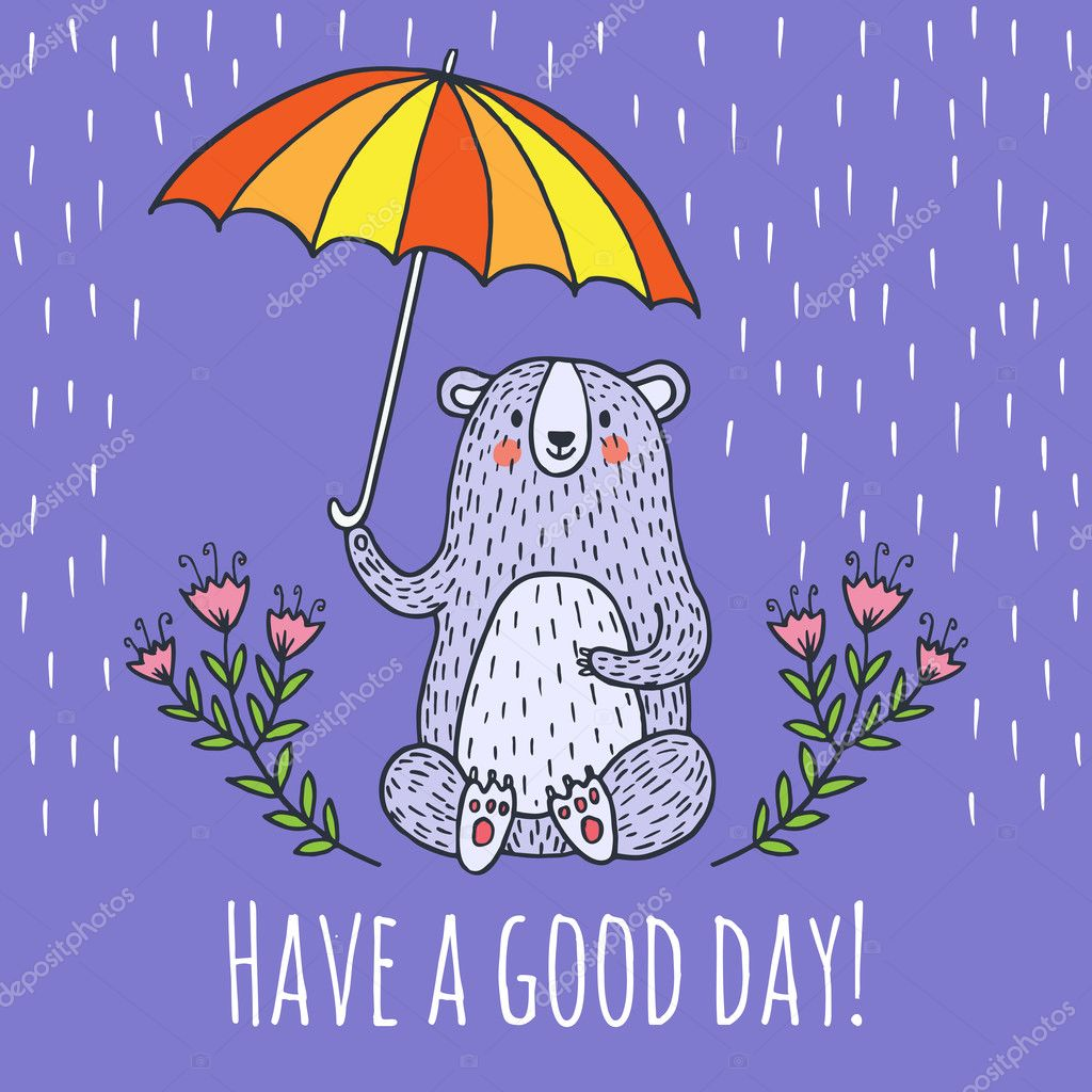 Have a good day greeting card stock vector antart 127505434 have a good day greeting card stock vector kristyandbryce Gallery