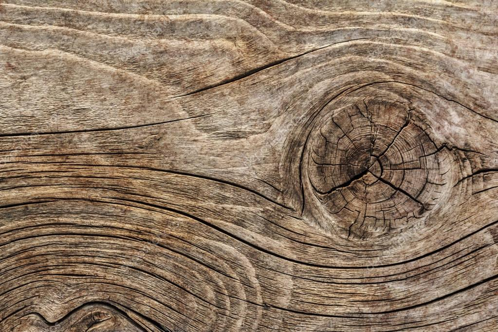 Old Knotted Weathered Rotten Cracked Wooden Rustic Floorboard Coarse Grunge Texture