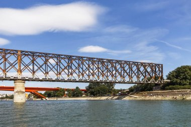 Old Railway Bridge Over Sava River - Belgrade - Serbia