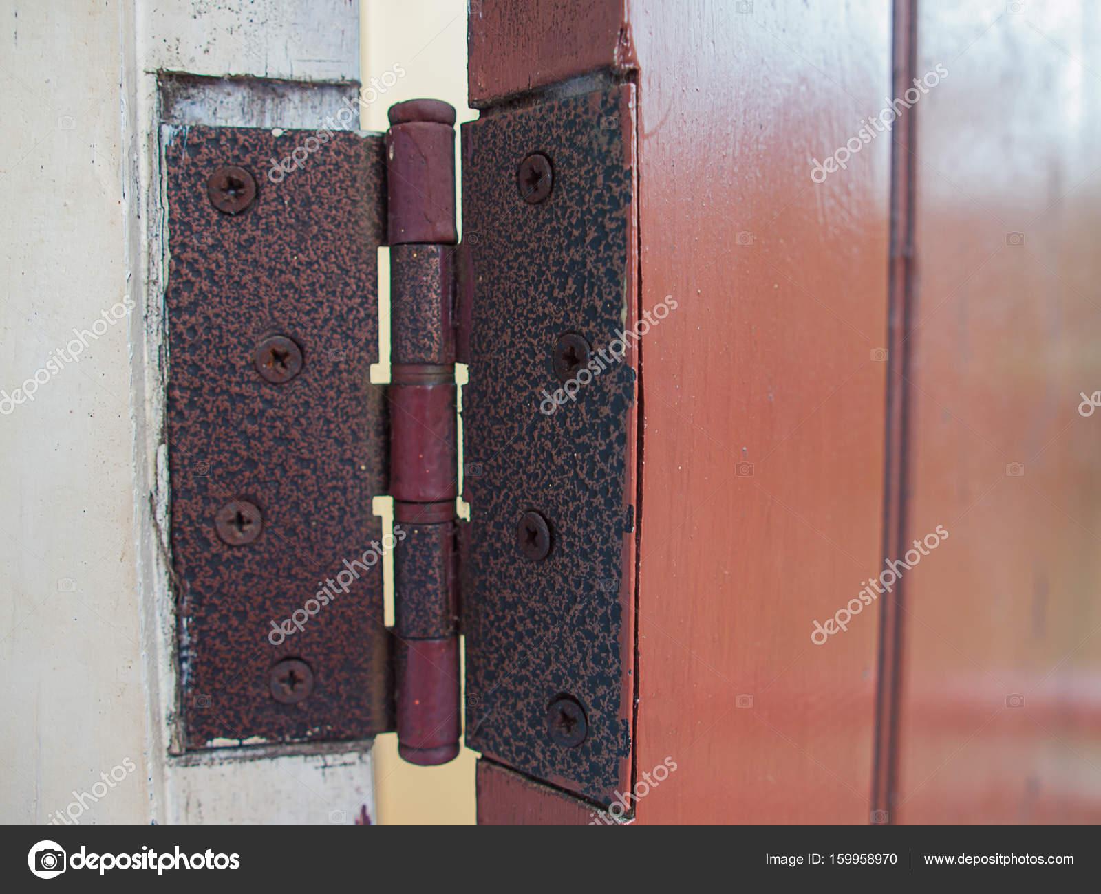 (Close Up) Old Door Hinges ,Interior Design. U2014 Photo By Kun2512