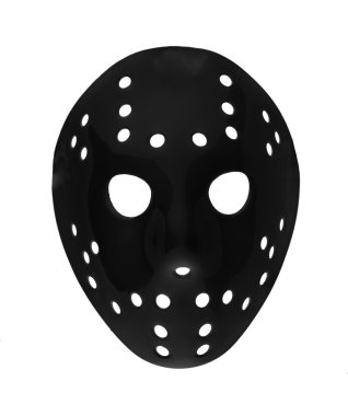 plastic hockey mask