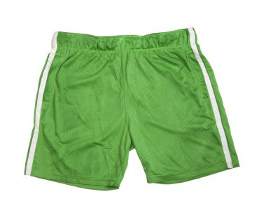 football green shorts