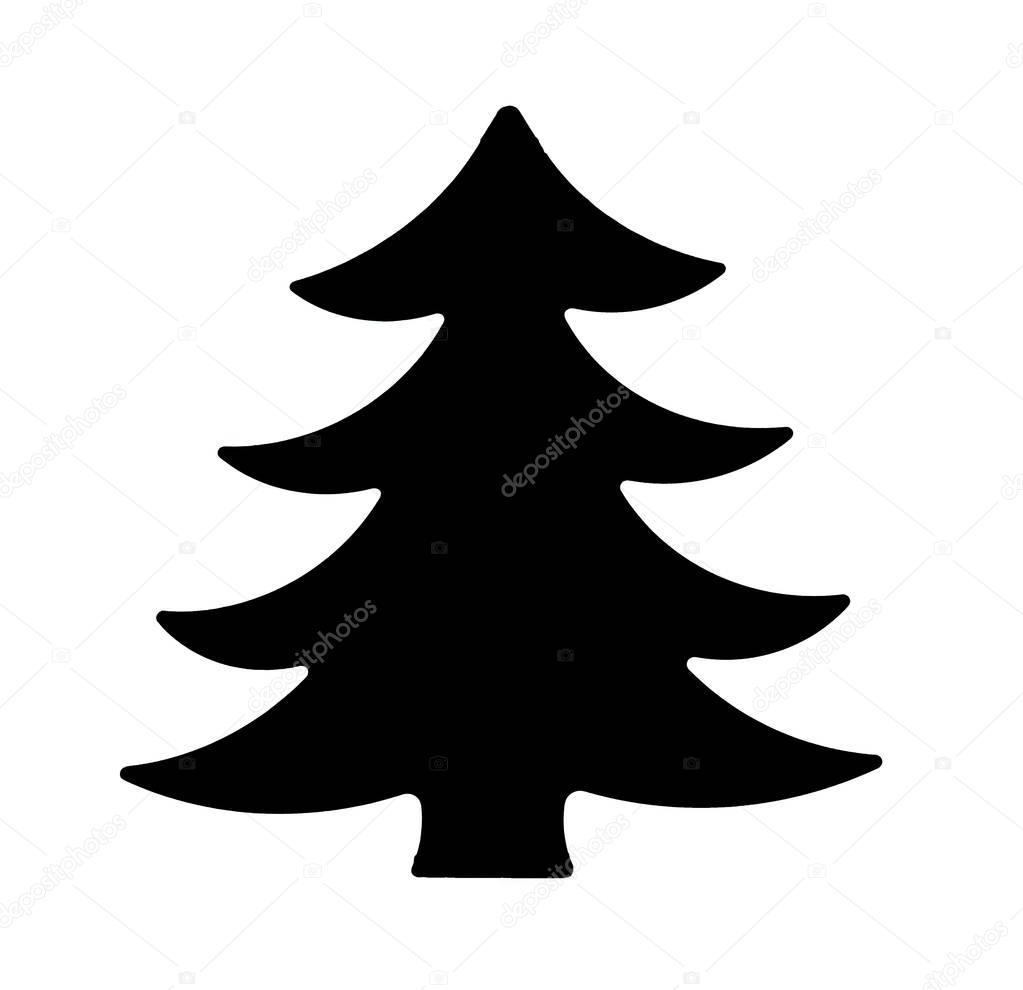 Albero Di Natale Nero.Albero Di Natale Nero Foto Stock C Borjomi88 129702640
