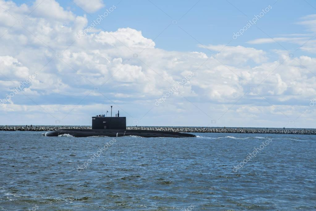 atomic submarine Borei