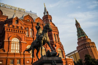 Monument to Marshal Georgy Zhukov