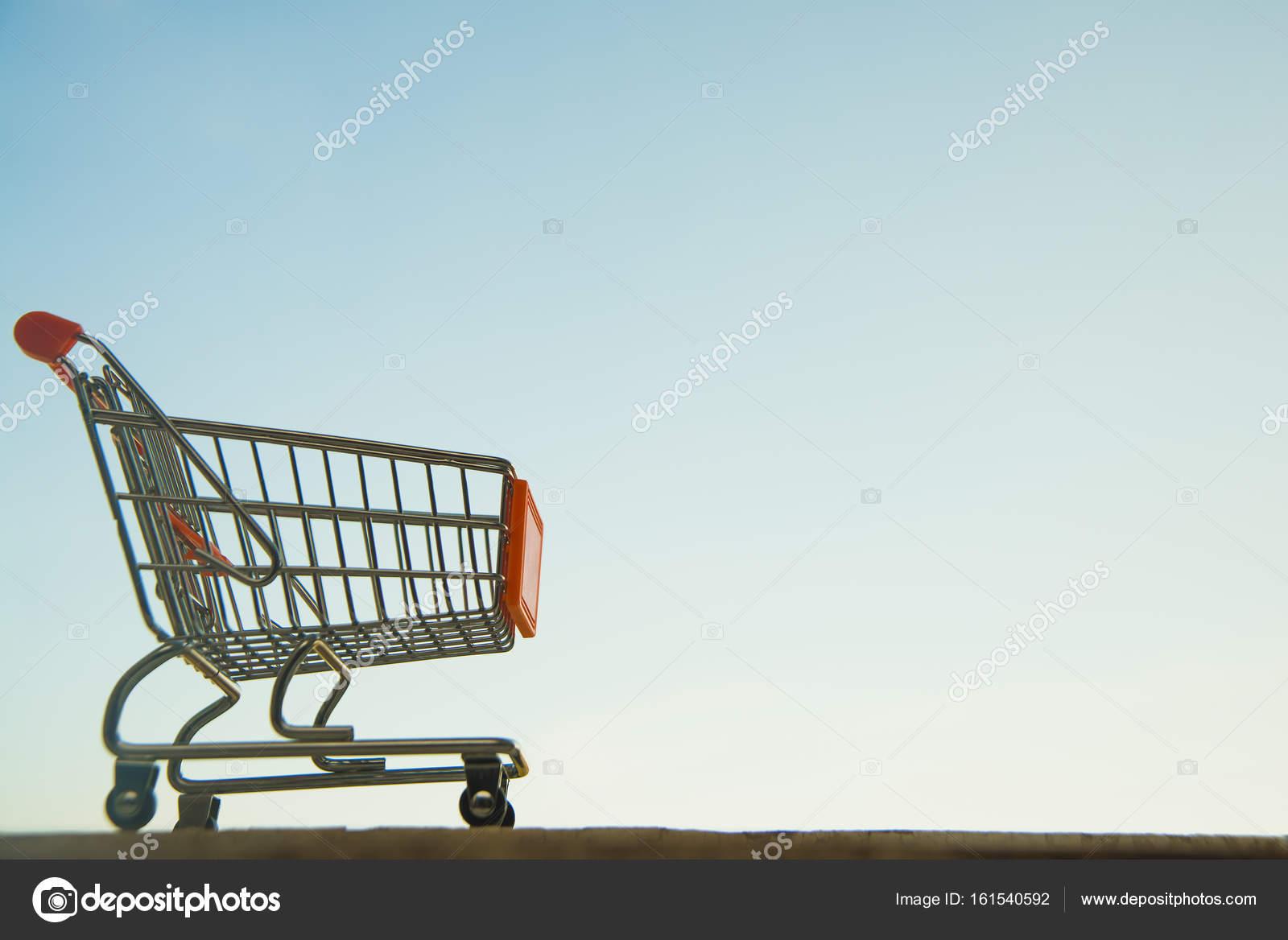 Empty Grocery Cart