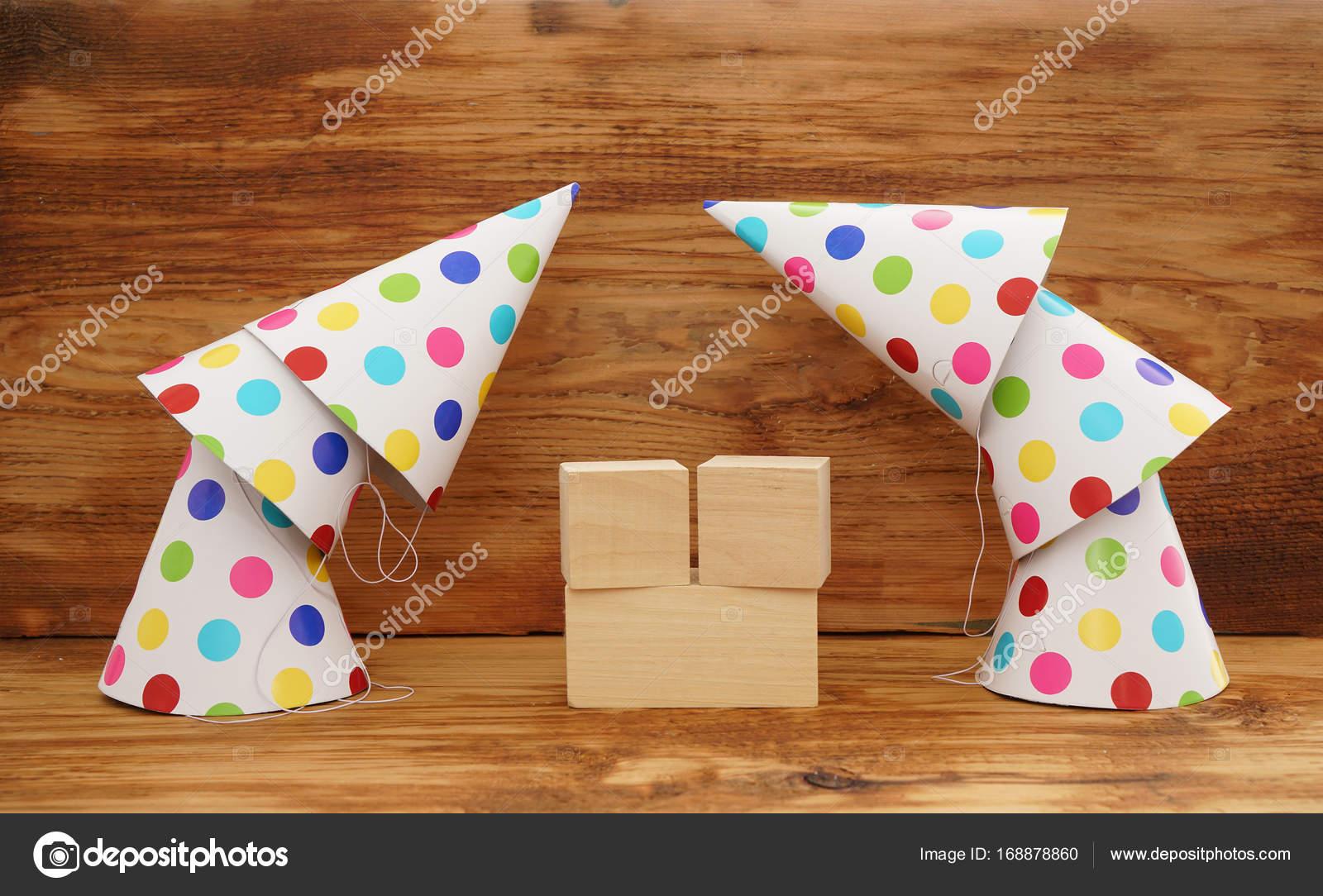 Happy Birthday Party Kappen Stockfoto Borjomi88 168878860