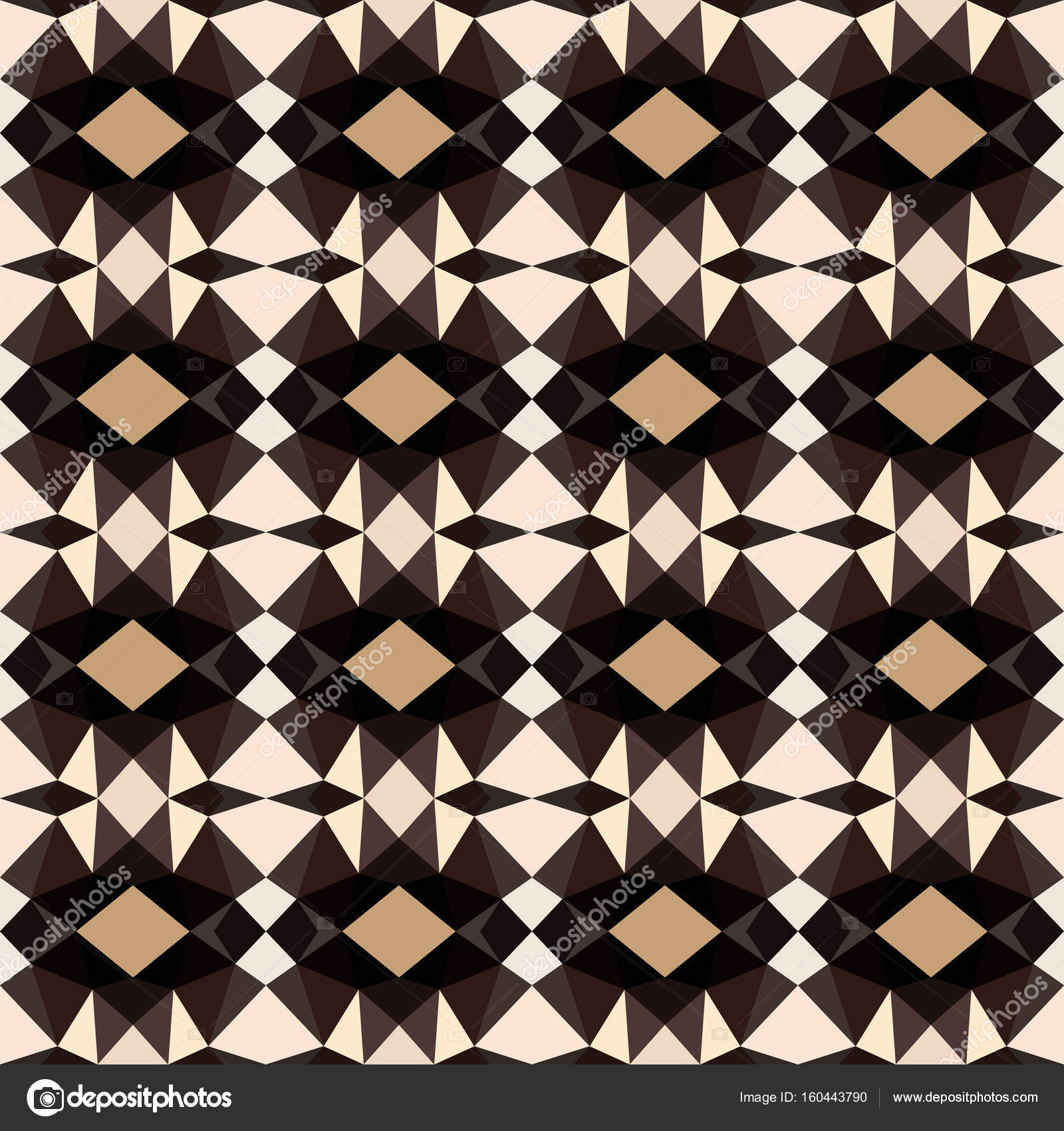 Black White Tribal Vector Seamless Pattern Abstract