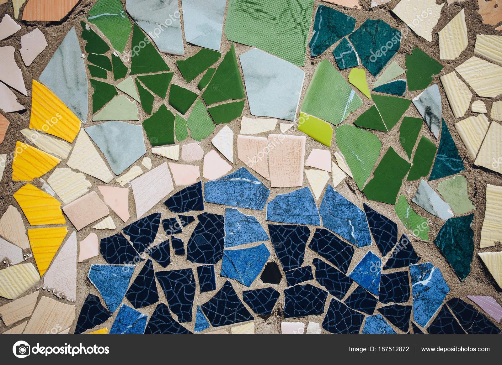 Ornamento decorativo della parete del mosaico ceramica piastrelle