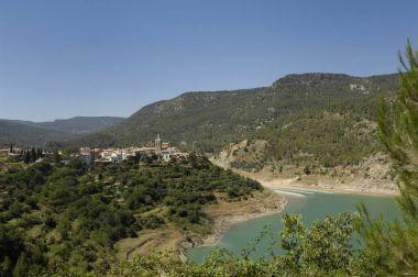 village of La Puebla de Arenoso, Montanejos, Castellon, Comunidad Valenciana, Spain