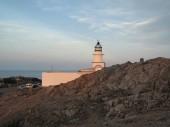 Photo lighthouse of Cap de Creus, Casta Brava, Girona,Catalonia, Spain
