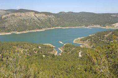 Arenoso o Campos swamp Montanejos, Castellon, Spain