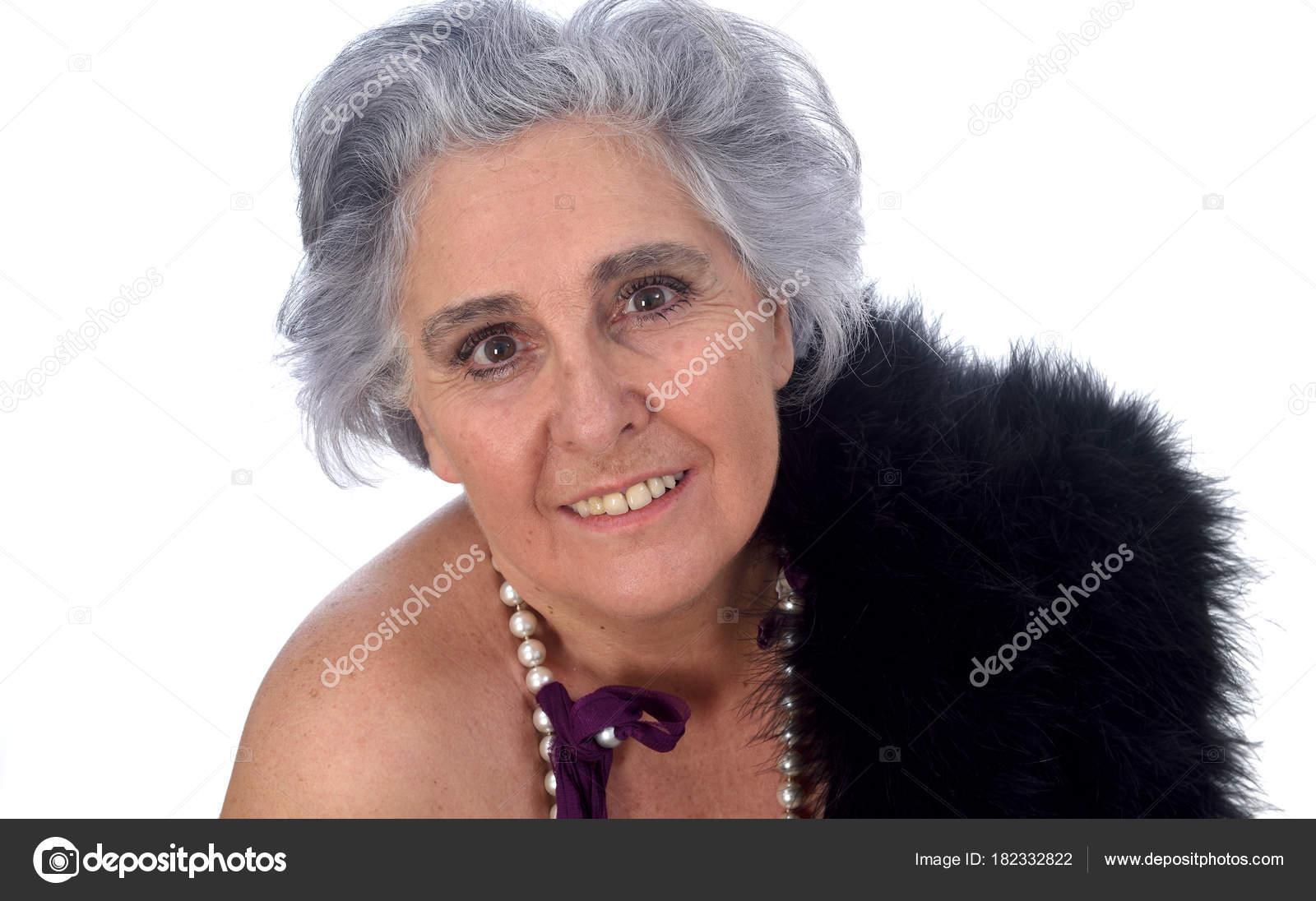 sexy ältere Porträts