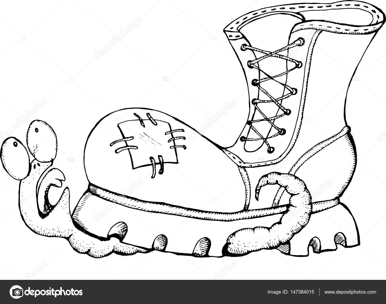 Gusanos Animados Para Imprimir Un Gusano Aplastado Por Un Zapato