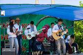 Národní ukrajinský hudební skupina v etnické kostýmy
