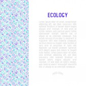 Photo Ecology and green energy concept